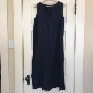 Land's End Sleeveless Linen Dress | Size 6